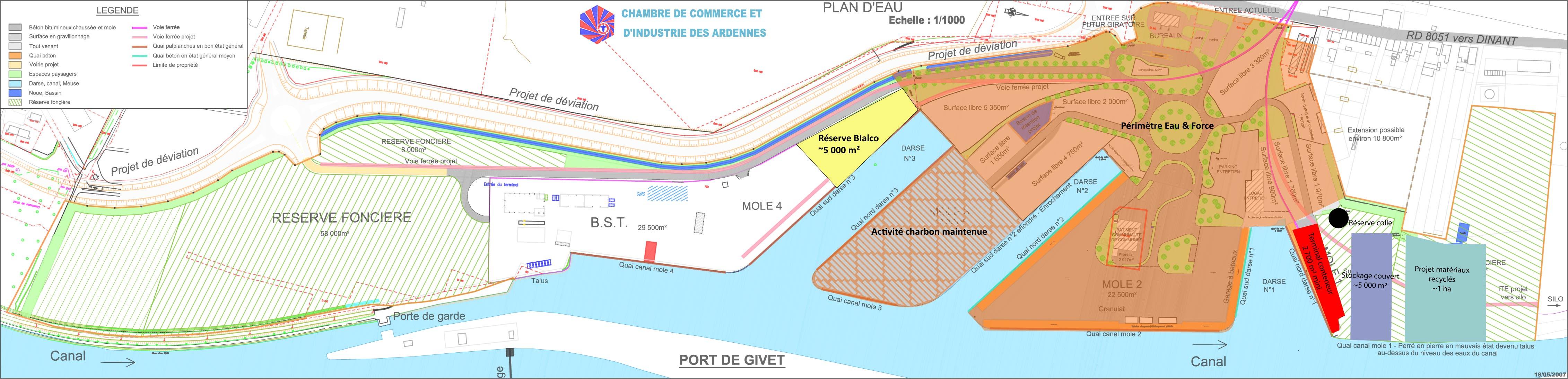 N:\ARDENNES\CCI ARDENNES\PORT DE GIVET\ETUDES\DAO\Plans\Plan TI\Image du port CCI Ensemble port (1